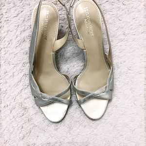NWOB Naturalizer Silver N5 Comfort Heels SZ 9W